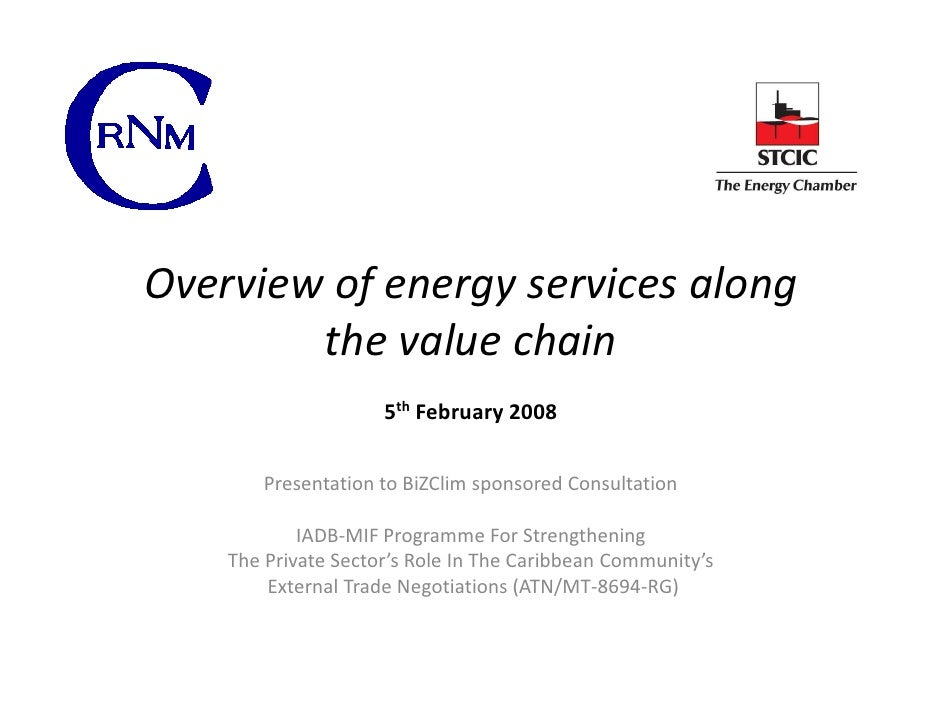 Energy Services - Overview Presentation To Bizclim