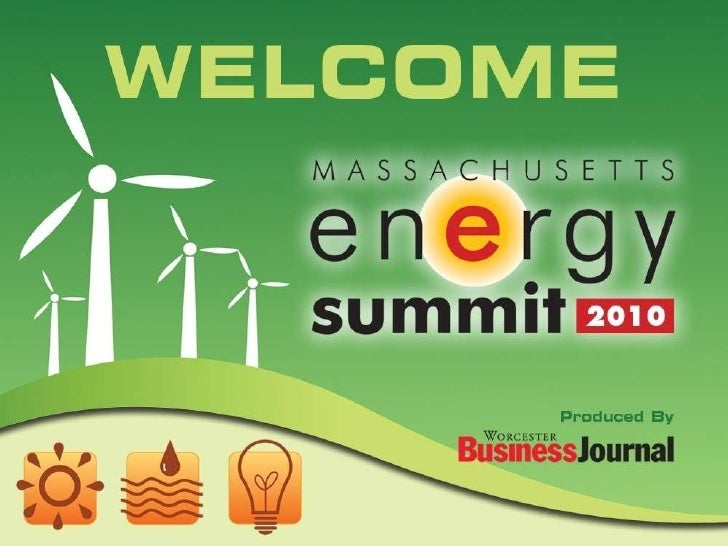 Mass Energy Summit 2010