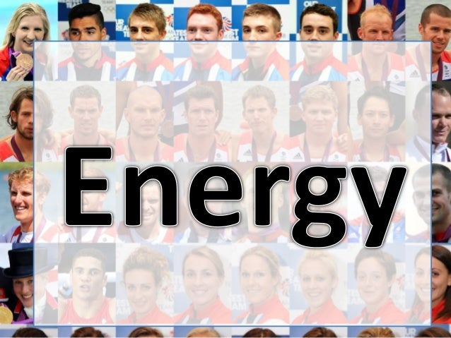 Energy systems introduction  AS Physical Education 2013