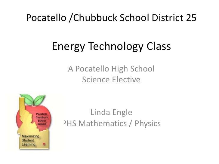 Energy technology class 2012