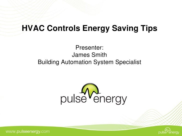 Energy tips for HVAC controls systems