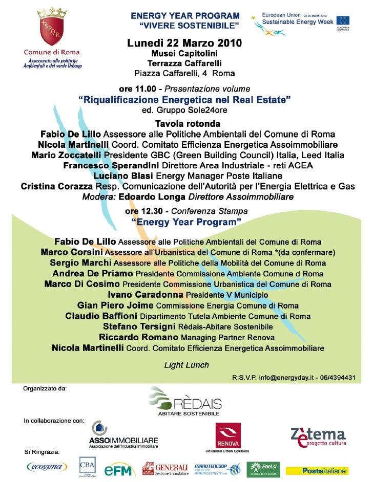 eFM a Energy Year Program