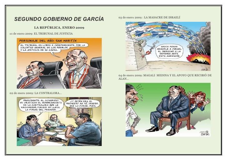 03 de enero 2009 : LA MASACRE DE ISRAELÍ   SEGUNDO GOBIERNO DE GARCÍA                LA REPÚBLICA, ENERO 2009 o1 de enero ...