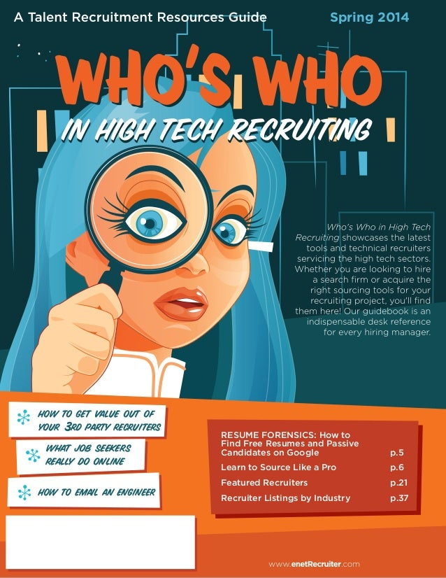 Who's Who In High Tech Recruiting