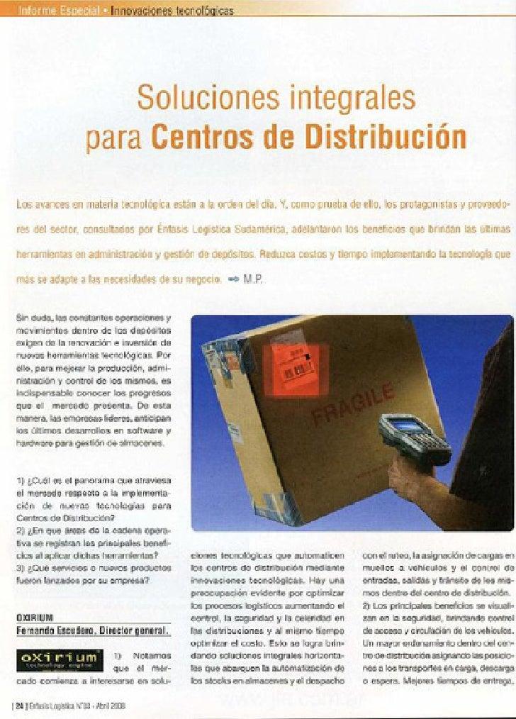 Enfasis logistica abr 08 2