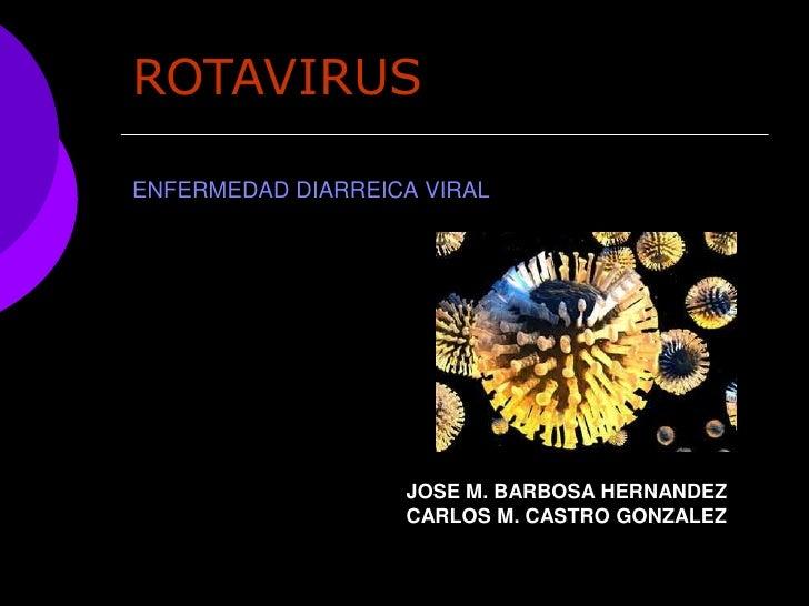 Enfermedad Diarreica Viral Por Rotavirus