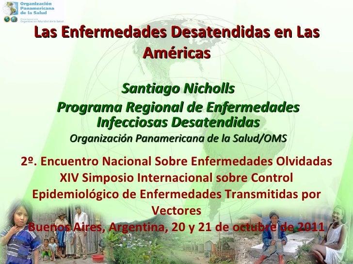Las enfermedades desatendidas en las Américas (OPS, 2011)