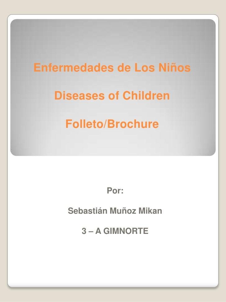 Enfermedades de los niños