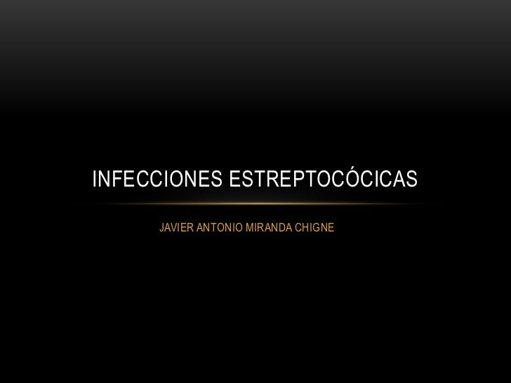 Enfermedades estreptoccicas