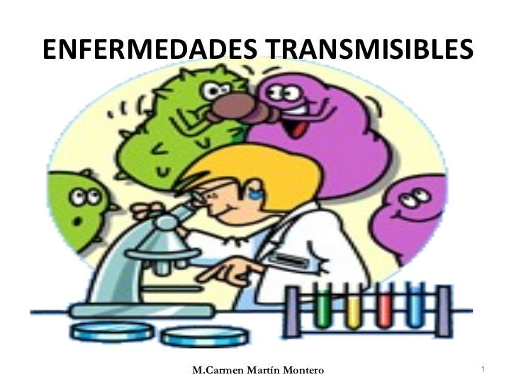 ENFERMEDADES TRANSMISIBLES M.Carmen Martín Montero