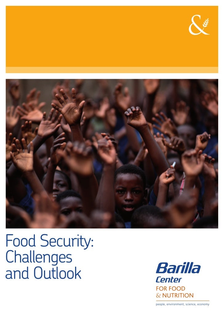 Food Security:Challengesand Outlook