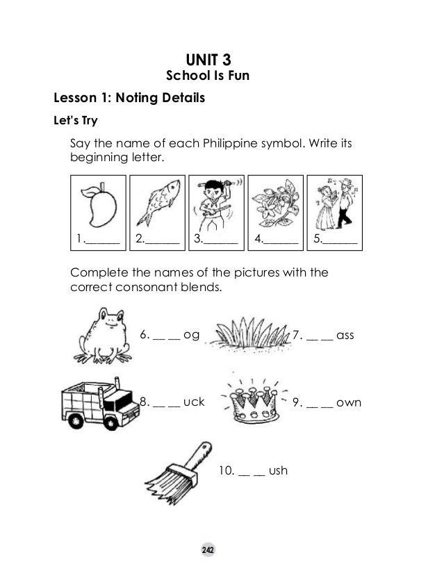 Reading Worksheets For Grade 1 Filipino : Reading worksheets for grade filipino free