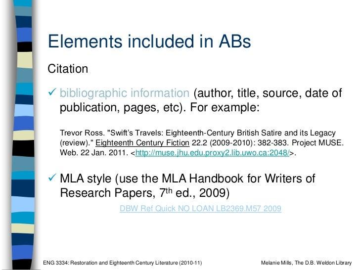 Annotated define