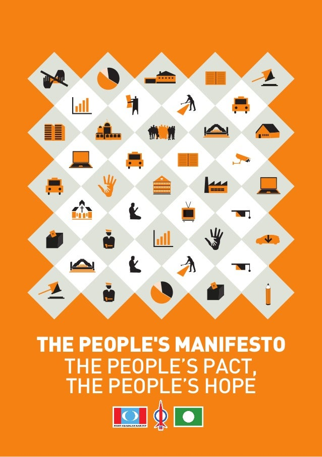RMTHE PEOPLES MANIFESTO  THE PEOPLE'S PACT,  THE PEOPLE'S HOPE