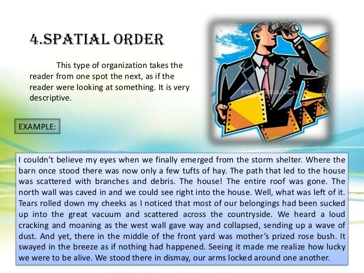 Descriptive essay spatial order thesis on autism spectrum disorder
