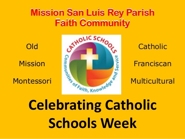 Celebrating Catholic Schools Week 2014