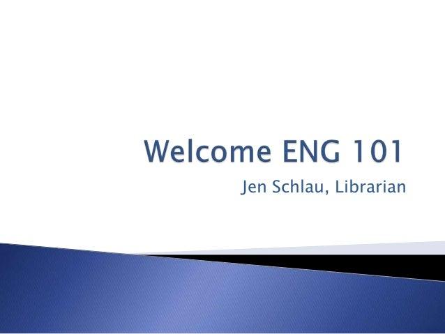 Jen Schlau, Librarian