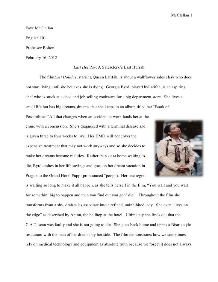 My Favorite Holiday Essay