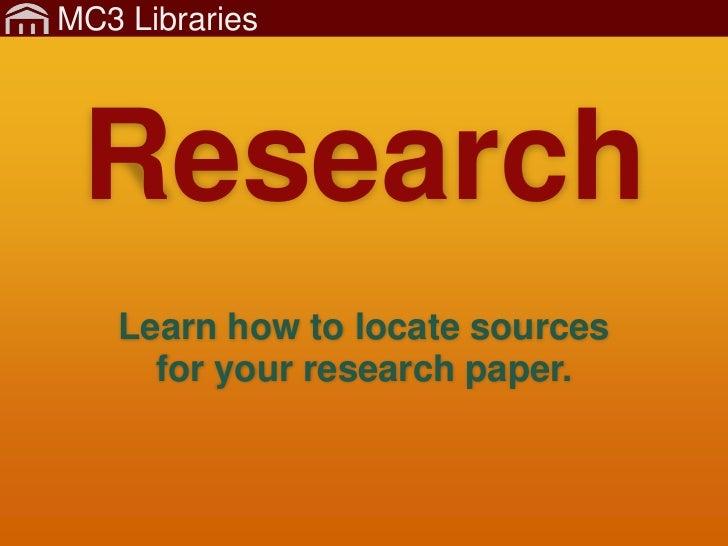 MC3 Libraries - Rearch - FullTutorial