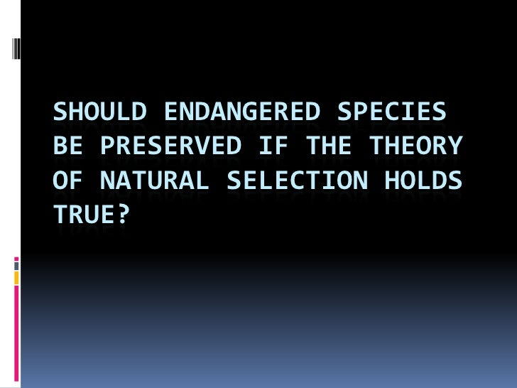 why preserving endangered species is unrealistic Figure 51 (a) the increase in human population over the last three hundred years (b) the number of species of mammals (white bars) and birds (black bars) eliminated over the last three hundred years.