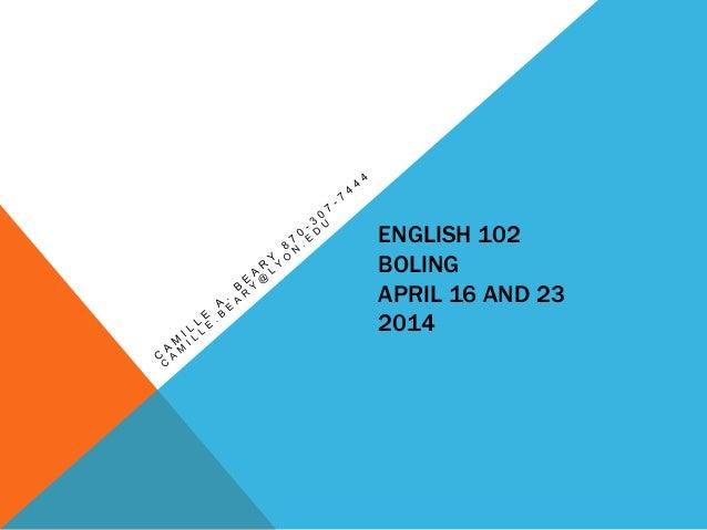 Eng102 bolingspring2014