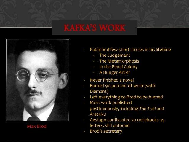 Importance of Franz Kafka?