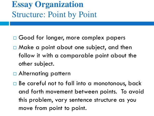 types of organizational structures for essays Marketing and organizational structure this essay will allow you to explain the alignment of the marketing plan with the organization's type of paper.