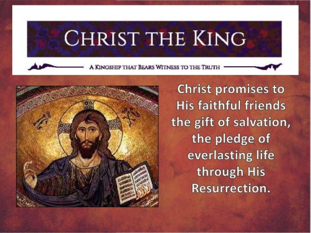 our lord jesus christ king of Wwwqueenofapostlesorg page 3 pastor's letter today, the last sunday of the liturgical year, we are celebrating the solemnity of our lord jesus christ, king of the uni.