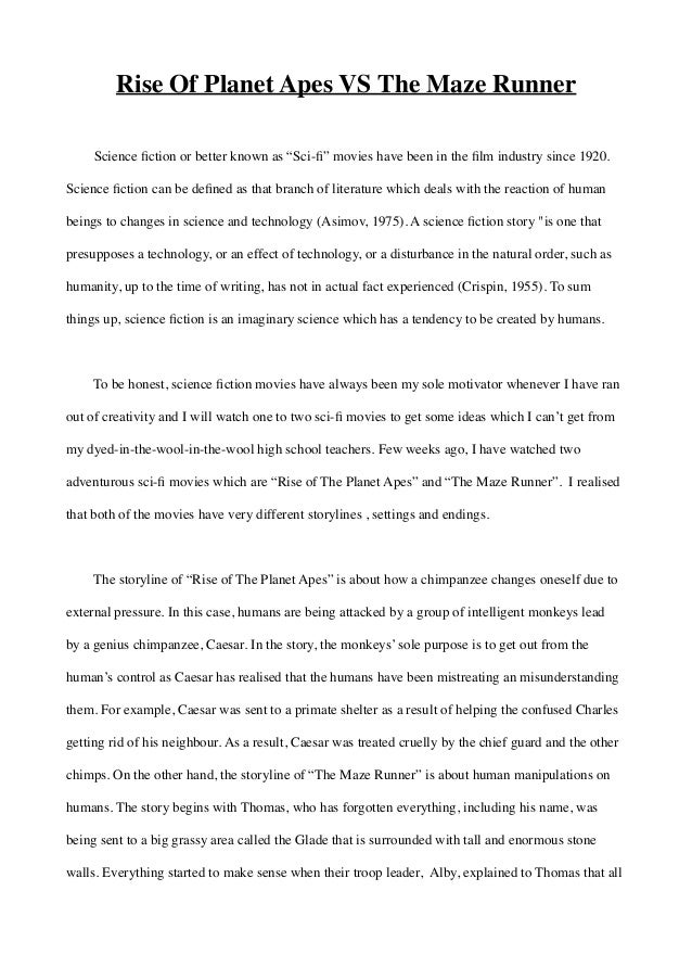Sci Fi Essay Science Fiction Essays  Sci Fi Essay However The Scientific Facts Which Are Presented Or  Questioned Within The Literature Are In Need Of Evaluation And  Contemplation For The