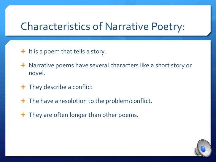 narrative poem examples - photo #31