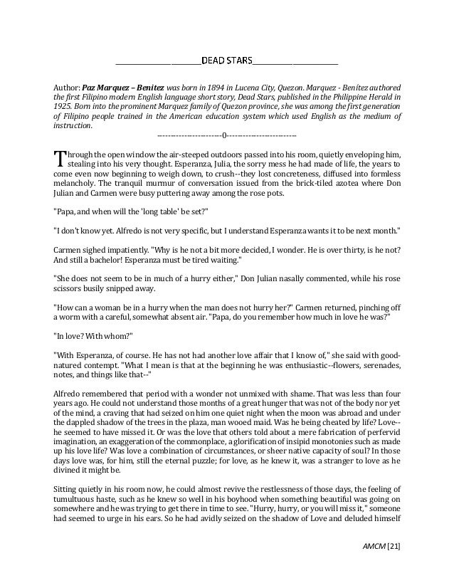 english essays by filipino authors Database of example english literature essays - these essays are the work of our professional essay writers and are free to use to help with your studies.