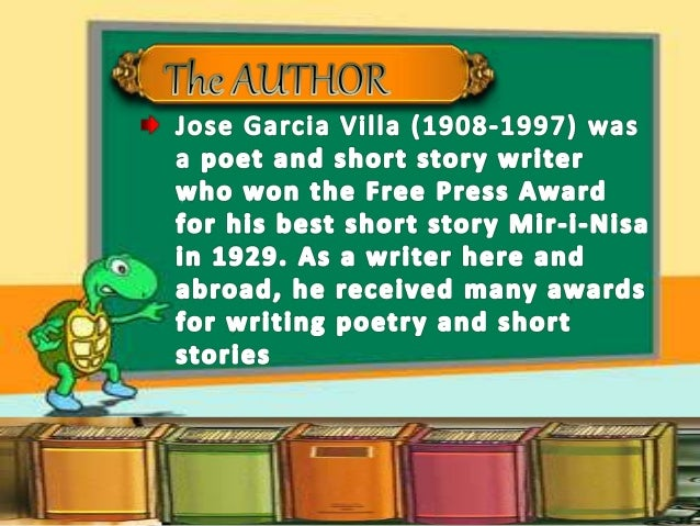 conclusion of footnote to youth by jose garcia villa Analysis footnote to youthfootnote to youth by jose garcia villa 1explain the title in what way is it suitable to the story footnote to youth.