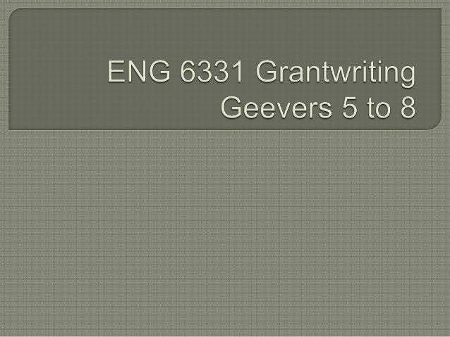 Eng 6331 Geevers 5 8