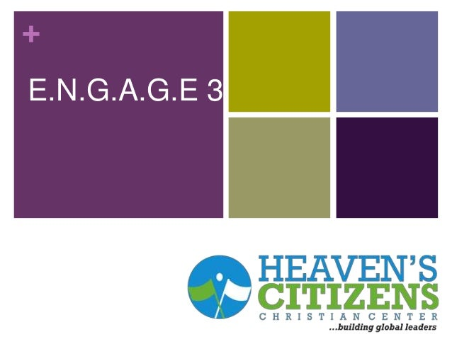 Engage 3- February 9th
