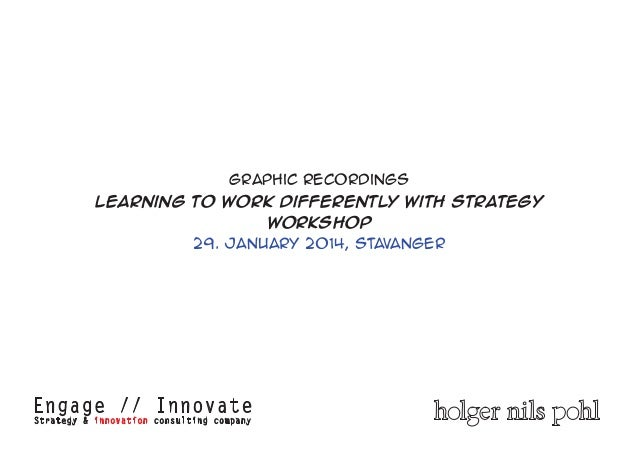 Strategy & Innovation Workshop Graphic Recordings