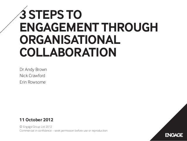 Engage at Melcrum Summit 2012