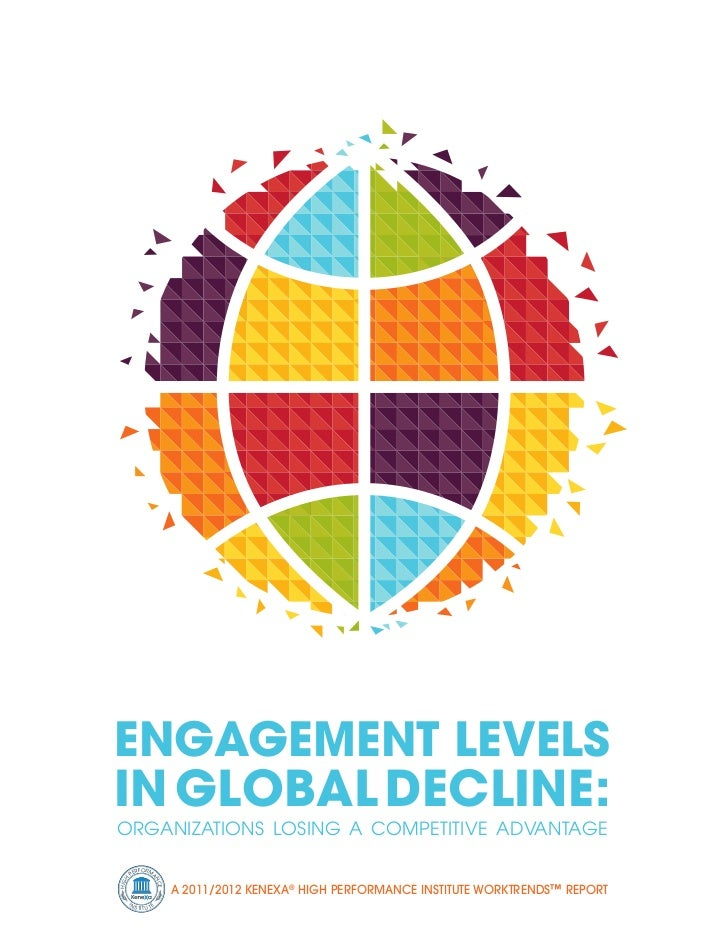 EngagEmEnt LEvELsin gLobaL DEcLinE:OrganizatiOns LOsing a COmpetitive advantage           R FOR M      PE                 ...