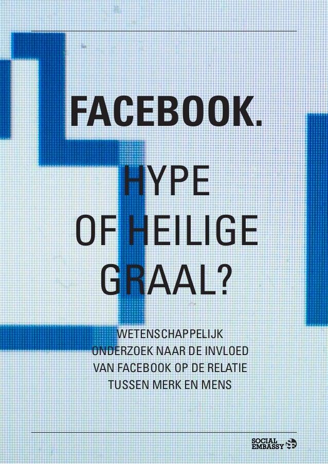 Eindelijk wetenschappelijk bewijs: Interactie op Facebook leidt tot meer merkkracht.