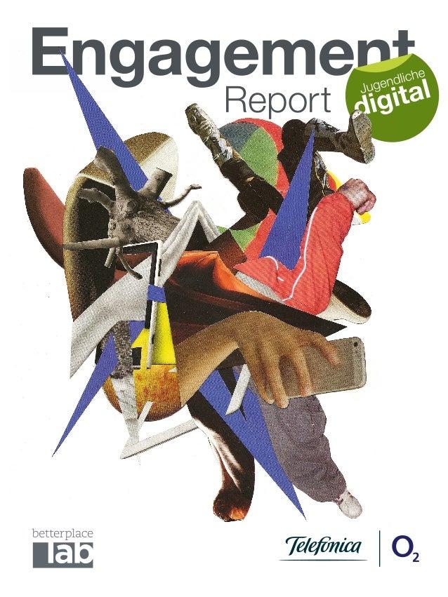 """Engagementreport """"Jugendliche digital"""" von Telefónica Deutschland und betterplace lab"""