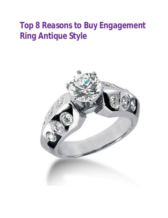 Engagement Ring Antique Style  47st closeouts