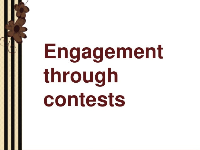 Community Engagement Through Contests