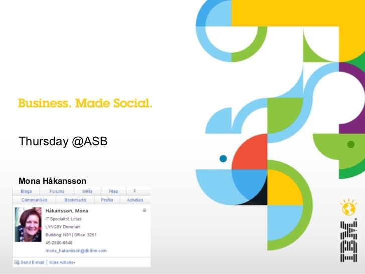 Engagement through social media at IBM