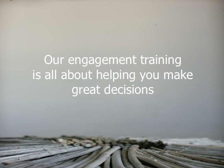 Engagement Training