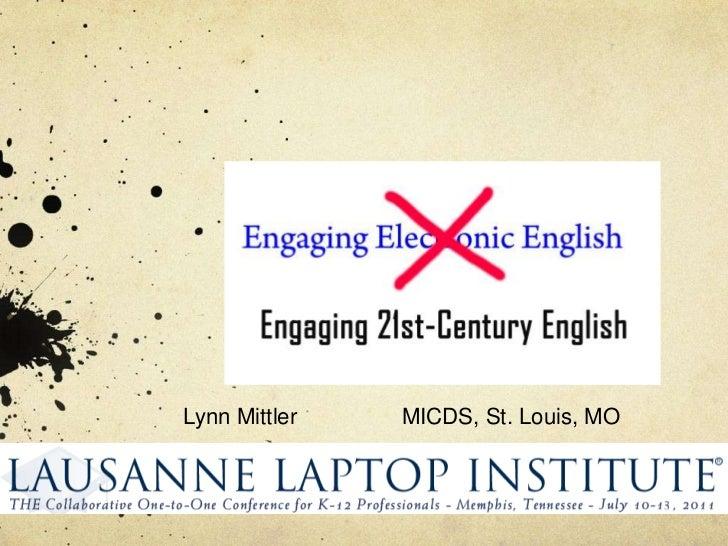Lynn MittlerMICDS, St. Louis, MO<br />