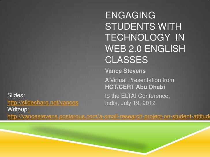 Engaging students eltai 19july2012 stevens