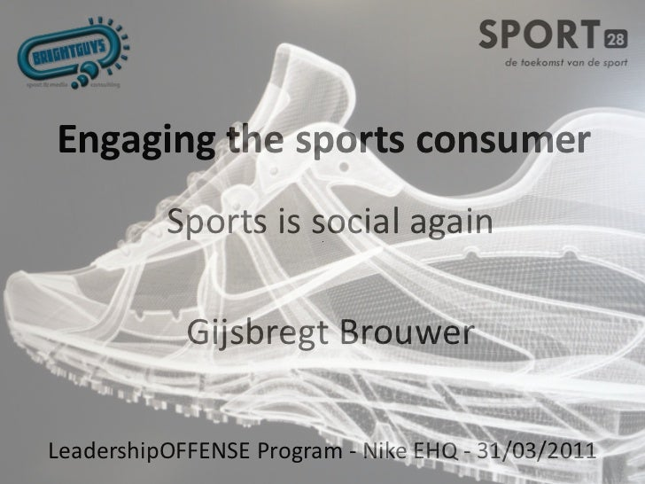 Engaging the sports consumer