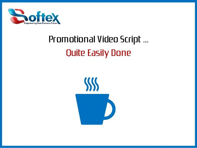 Narrator video promotional how to write