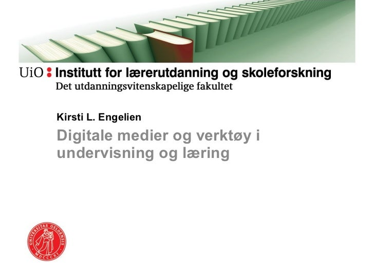 Engelien - Digitale verktøy og medier i undervisningen Vilnius 1