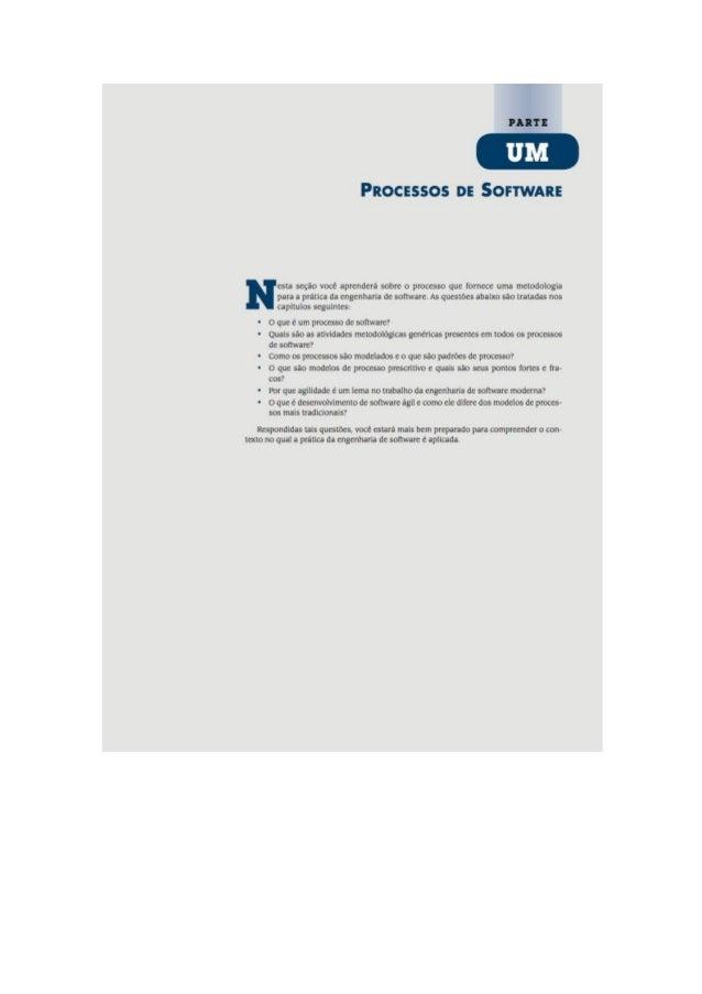 Engenharia de software 7° edição roger s.pressman capítulo 2