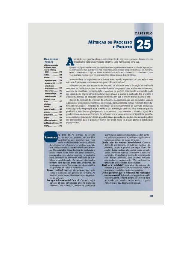 Engenharia de software 7° edição roger s.pressman capítulo 25